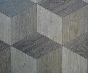 floor cubed vinyl tile