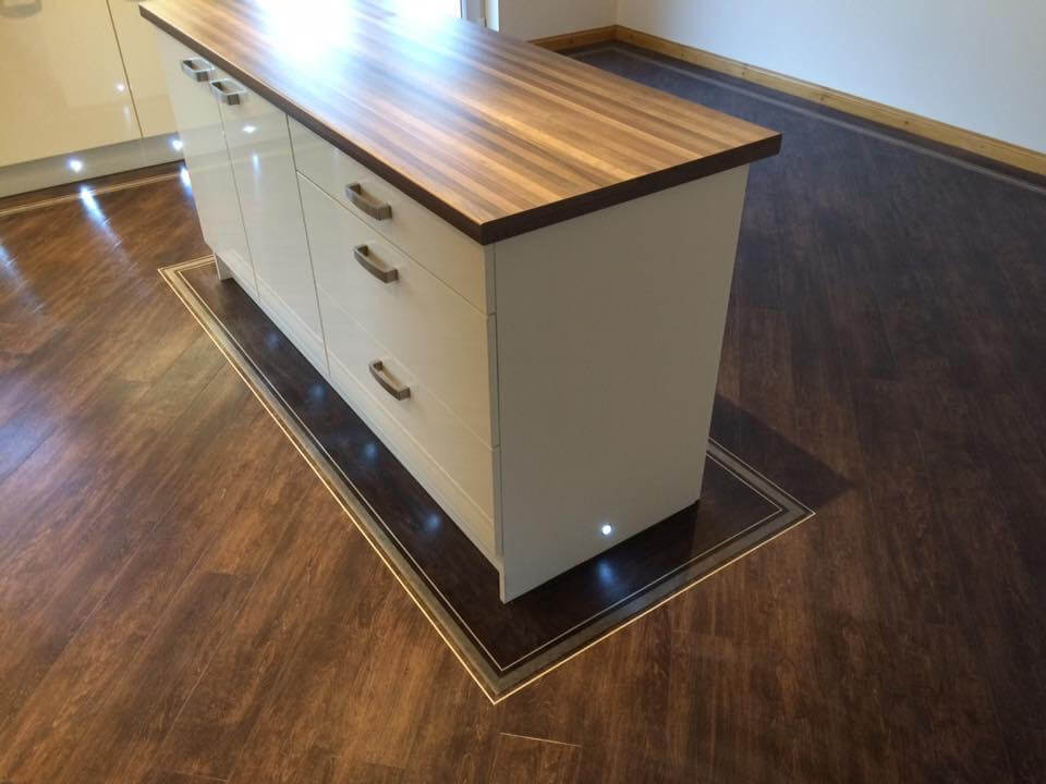 Westend flooring specialists dundee commercial domestic for Luxury kitchens scotland