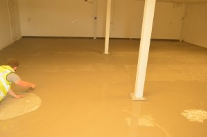 screeding completion