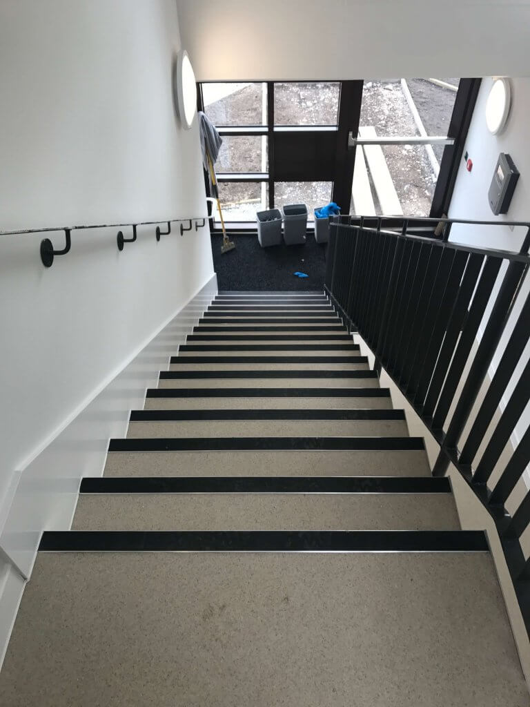 down stair flooring