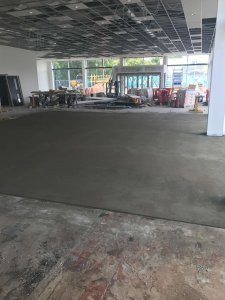3 quarter screed