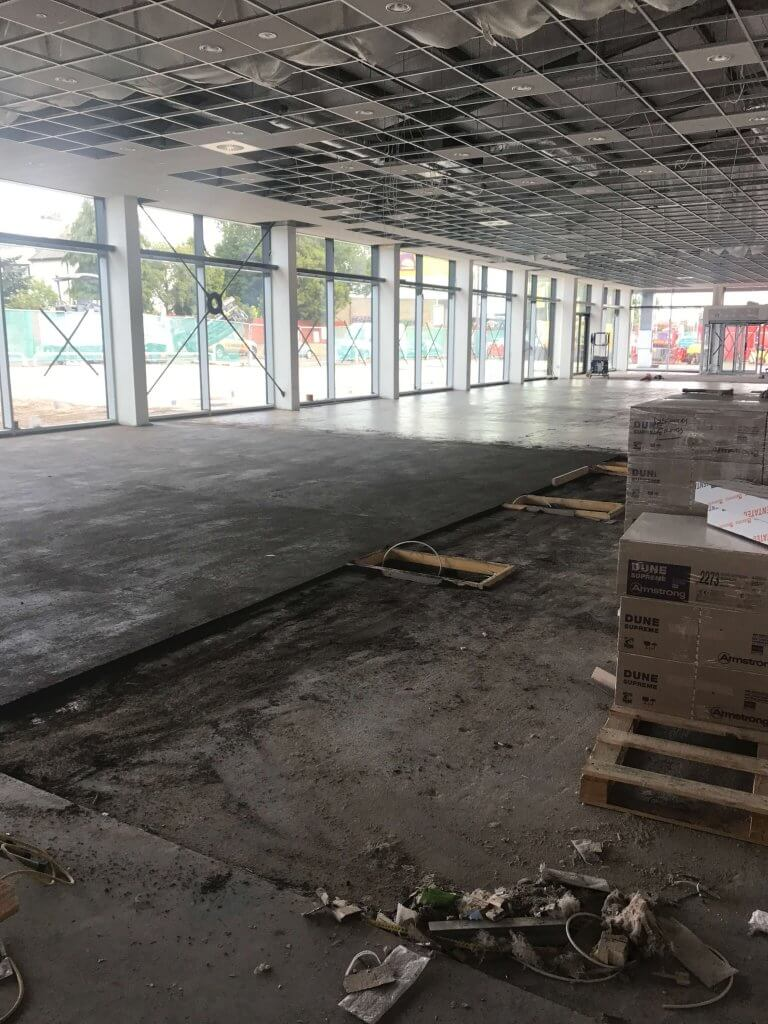 arnold half screed