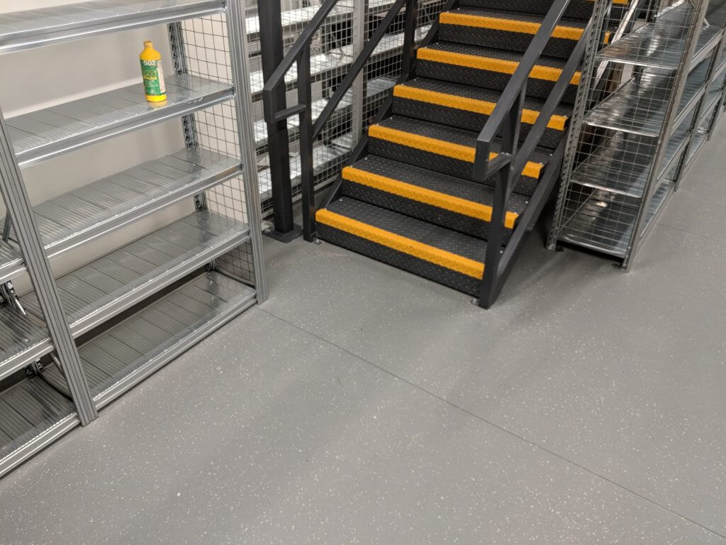 commercial storage flooring