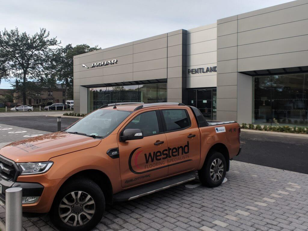 WESTEND COMMERCIAL FLORING VEHICLE