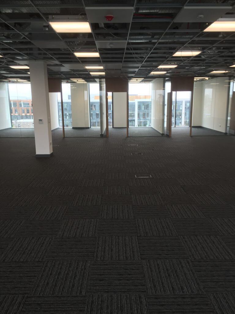 AKP Aberdeen commercial carpet with tiled pattern