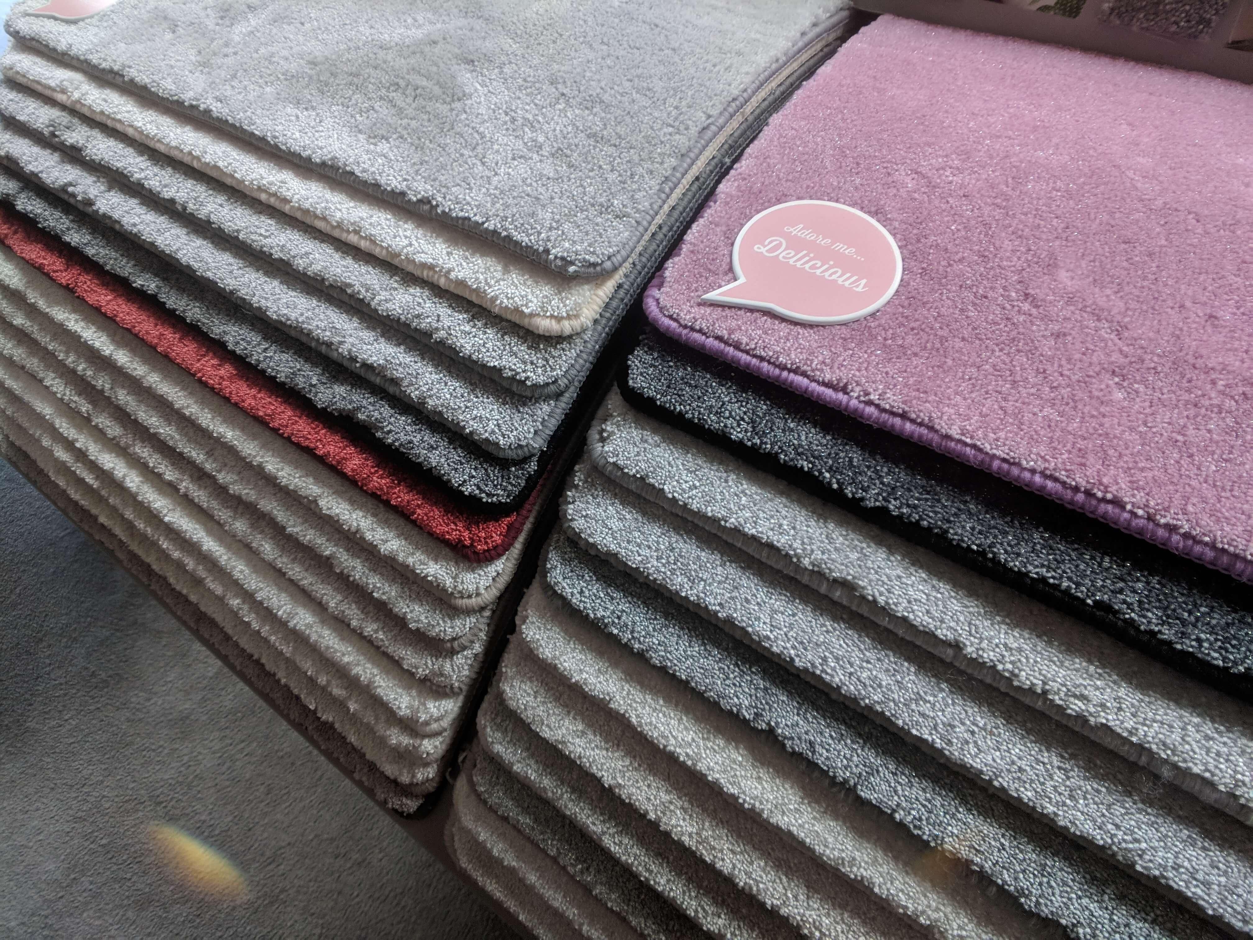 fluffy carpet styles