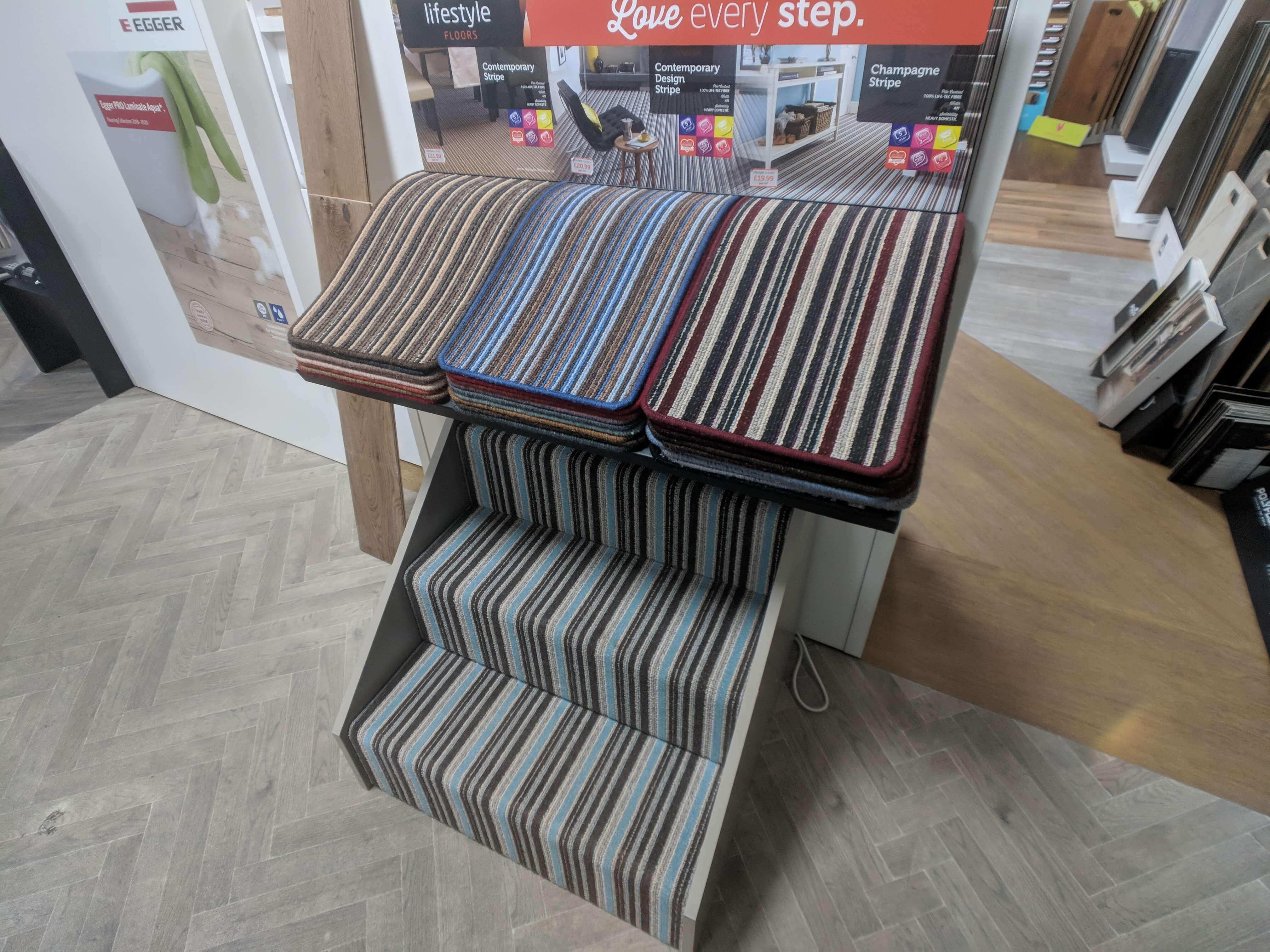 glouster stripe stair carpet