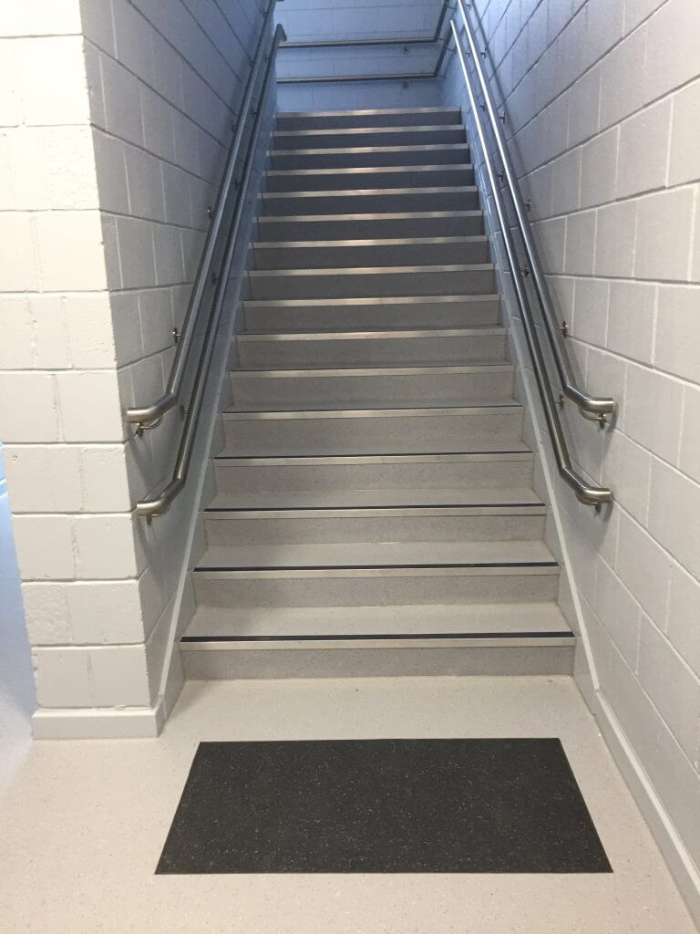 Sidlaw Primary Sidlaw Primary long stairs