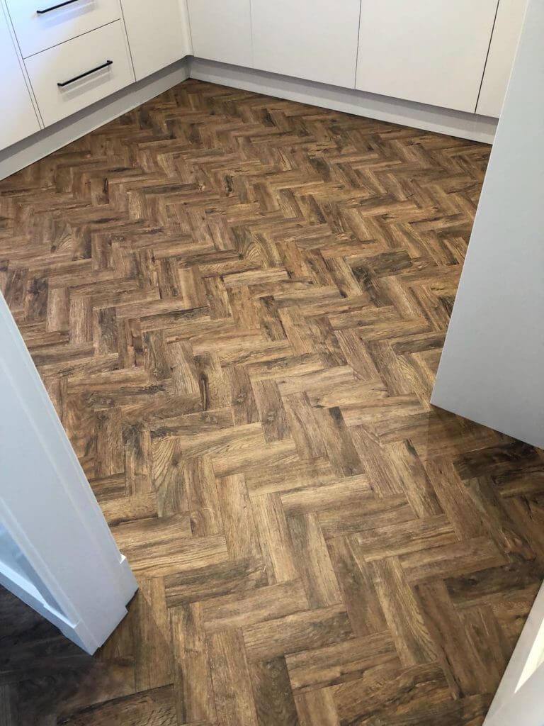 camaro herringbone tile