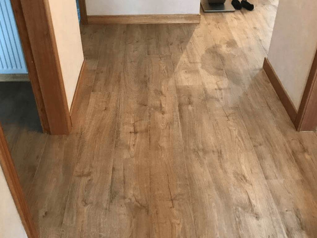 quick step hall flooring