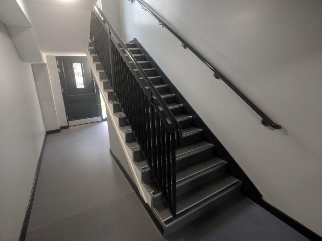communul stairwell and corridor commercial flooring 3