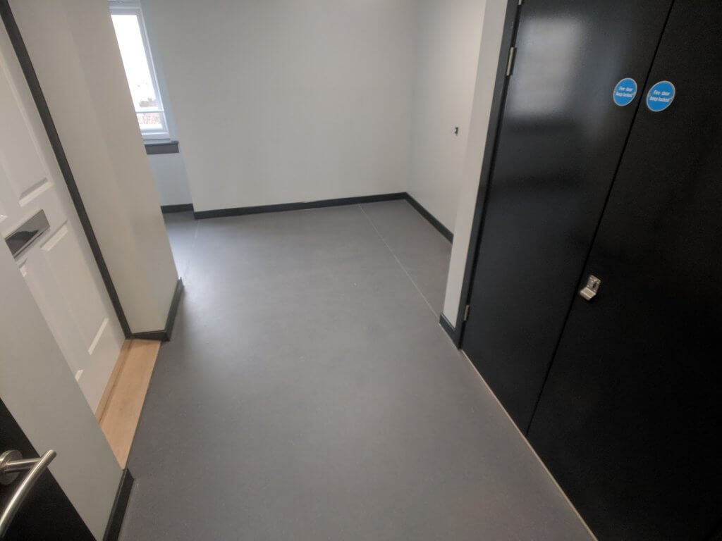 communul stairwell and corridor commercial flooring 6