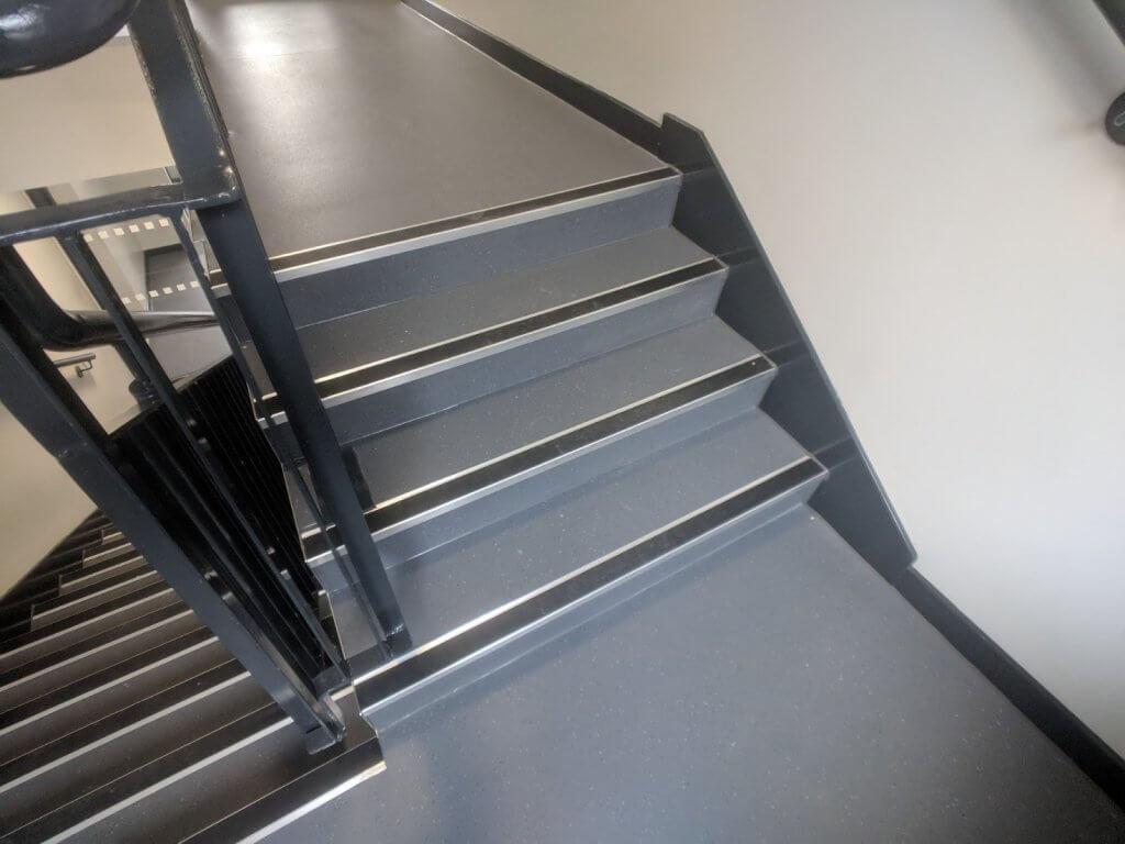 communul stairwell and corridor commercial flooring 8