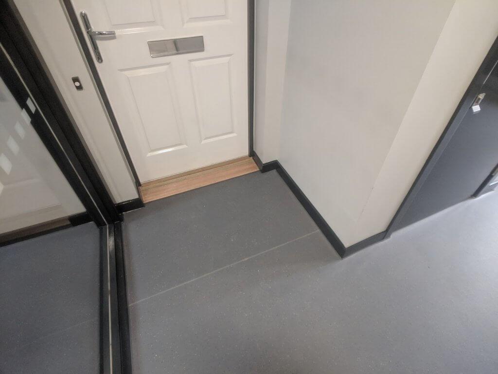 communul stairwell and corridor commercial flooring